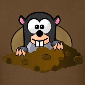 animal pet mole - Men's T-Shirt