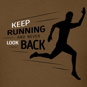 Keep Running - Men's T-Shirt