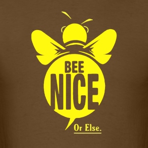 bee nice - Men's T-Shirt
