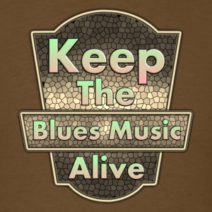 keep blues - Men's T-Shirt