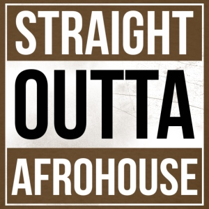 Straight_Outta_AFROHOUSE - Men's T-Shirt