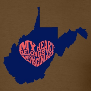 West Virginia - Men's T-Shirt