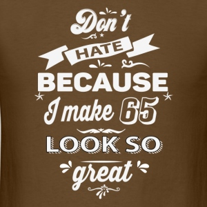 65th birthday designs - Men's T-Shirt