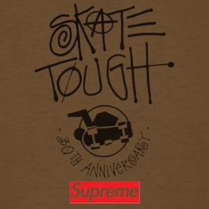 Surpreme x Stusy 30th Anniversary - Men's T-Shirt