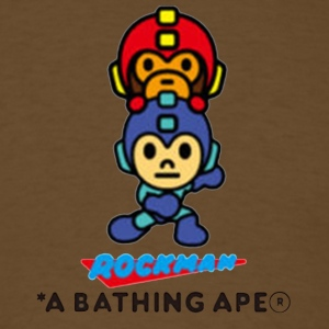 Bape x Rockman Limited Edtion - Men's T-Shirt