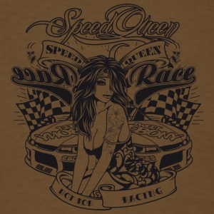 speed_queen_black - Men's T-Shirt