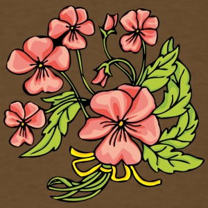 small_pink_flowers_2 - Men's T-Shirt