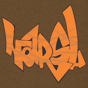horsl_graffiti - Men's T-Shirt
