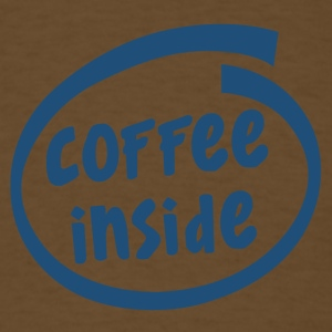 1829C coffee inside - Men's T-Shirt