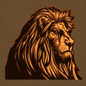 old_wise_lion - Men's T-Shirt