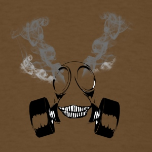 Insane Smoking Gas Mask - Men's T-Shirt