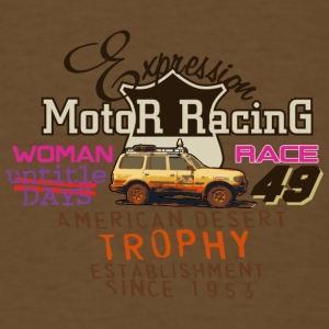 motor racing - Men's T-Shirt