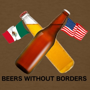 Beers Without Borders - Men's T-Shirt