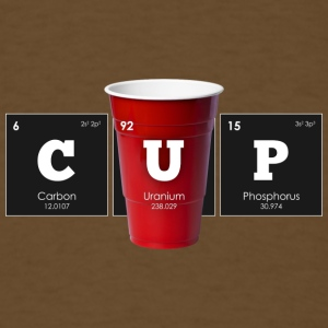 Periodic Elements: CUP - Men's T-Shirt