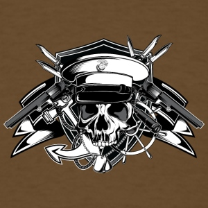 captain_skull - Men's T-Shirt