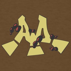aa_graffiti - Men's T-Shirt