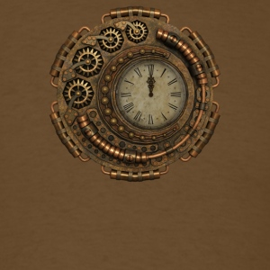 Steampunk Clock - Men's T-Shirt