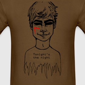 dexter (tonigh's the night) - Men's T-Shirt