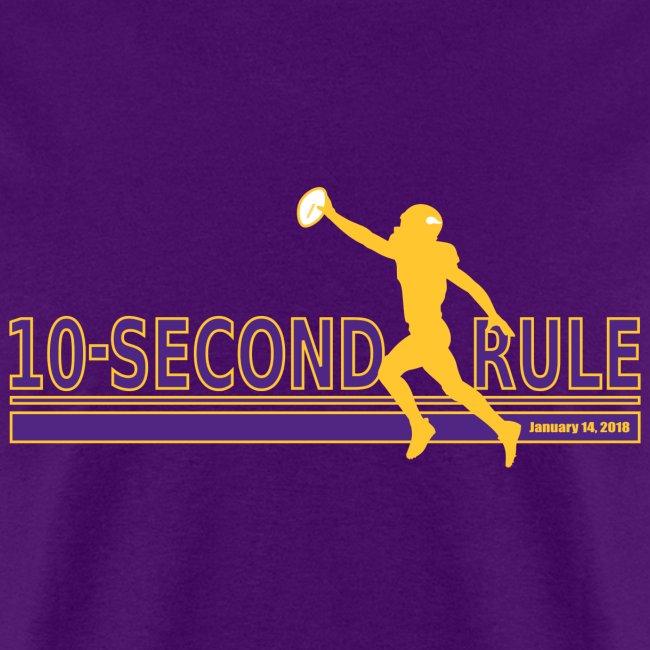 10 Second Rule (January 14, 2018) - Alternate 1