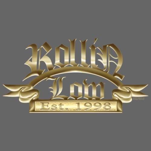 Rollin Low Plaque by RollinLow - Men's T-Shirt
