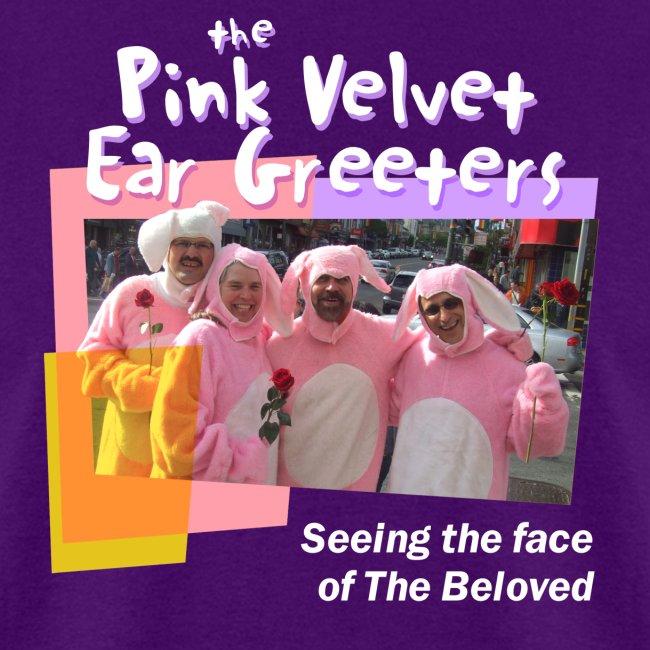The Pink Velvet Ear Greeters