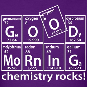 good_morning_chemistry - Men's T-Shirt