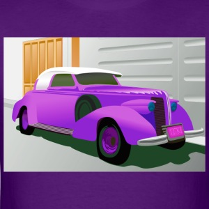 PURPLE BUICK 1938 SPECIAL CONVERTIBLE - Men's T-Shirt