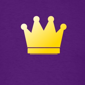 Crown - Gold - Men's T-Shirt