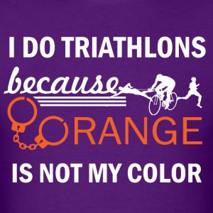 triathlon design - Men's T-Shirt
