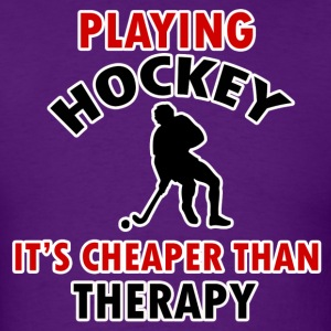 hockey design - Men's T-Shirt