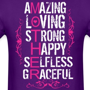 Amzing Loving Strong Happy Selfles Graceful Mother - Men's T-Shirt