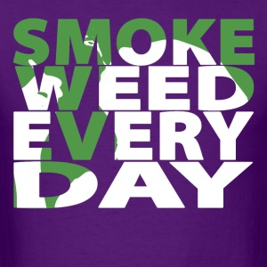 Smoke Weed Every Day - Men's T-Shirt