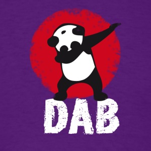 DAB panda dabbing football touchdown mooving dance - Men's T-Shirt