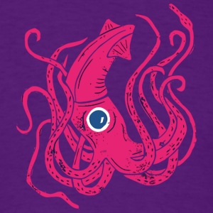 Giant Squid - Men's T-Shirt