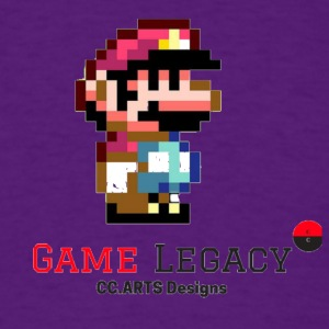 CC ARTS DESIGNS GAME LEGACY 2 - Men's T-Shirt