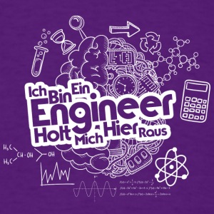 ICH BIN EIN ENGINEER - Men's T-Shirt