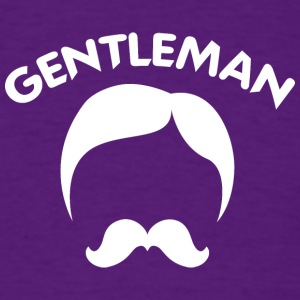 GENTLEMAN_3_white - Men's T-Shirt
