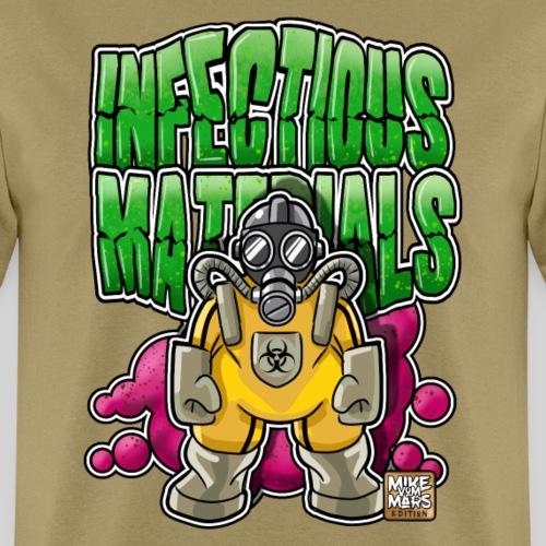 Infectious Materials - Men's T-Shirt