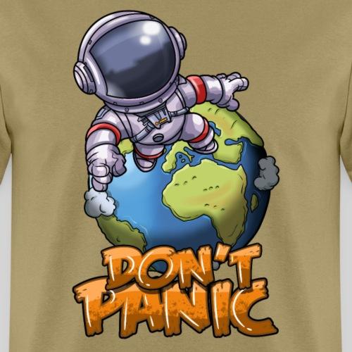 Don't Panic: Astronaut's Dive - Men's T-Shirt