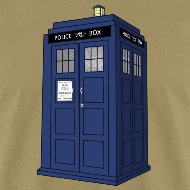 blue call box