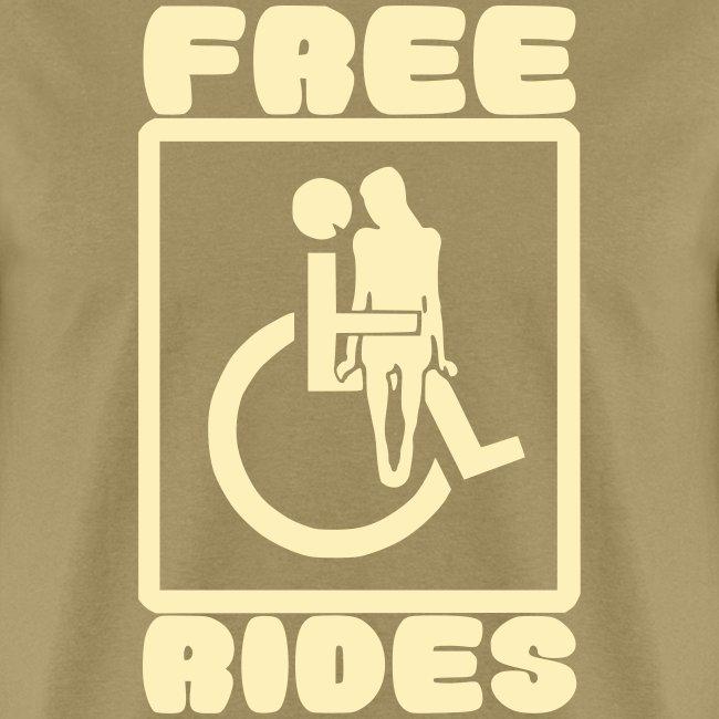 Free rides, wheelchair humor