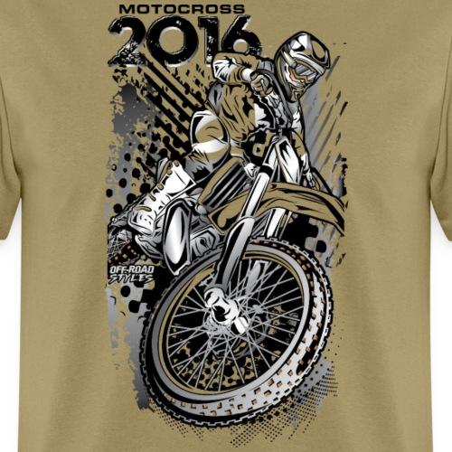 Motocross 2016 Shirt - Men's T-Shirt