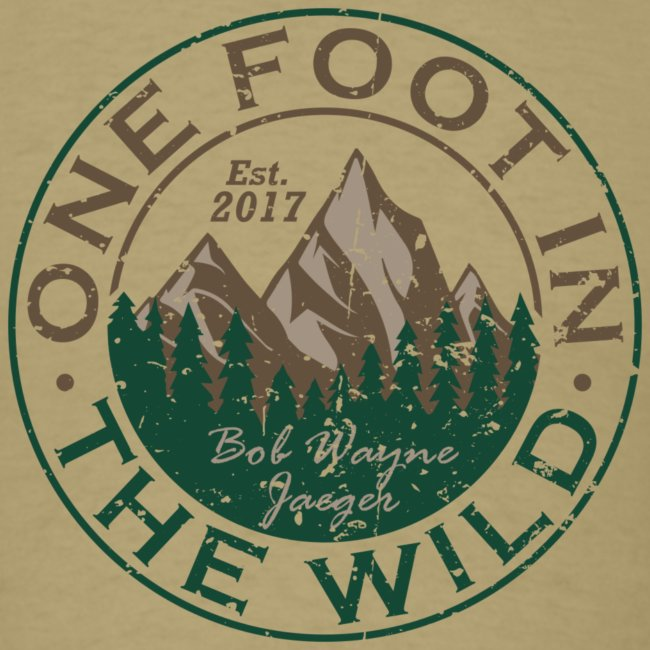 One Foot in the Wild Logo Gear