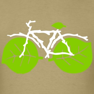 nature bicycle - Men's T-Shirt