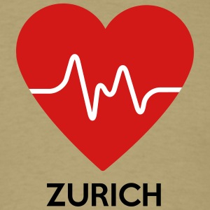 Heart Zurich - Men's T-Shirt