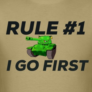 Tank Goes first! - Men's T-Shirt