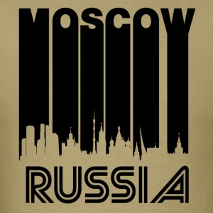 Retro Moscow Skyline - Men's T-Shirt