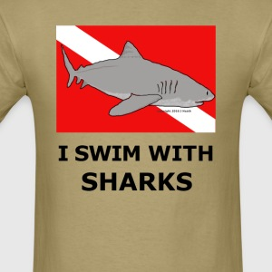 Shark Diver - Men's T-Shirt