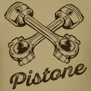 Pistone inscription cool tatoo - Men's T-Shirt