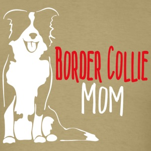 Border Collie Mom - Men's T-Shirt